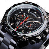 Forsining GMT1138 Week Display Waterproof Mechanical Watch