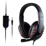 3,5 mm + USB-Kabel Gaming-Kopfhörer Heavy Bass Headset für den professionellen Computerspieler PS4 / XBOX-ONE / PC