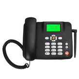 デュアルSIMカードデスクトップ電話ポータブルワイヤレスターミナルGSMデスク携帯電話フィーチャーフォン