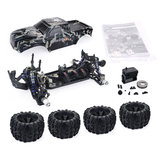 ZD Racing Camouflage Color MT8 Pirates3 1/8 4WD 90 км / ч Бесколлекторный RC Авто Набор без электронных компонентов