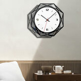 Vintage Handmade Acrylic Wall Clock 3D Elegant Gear Silent Clock Home Offcie Decoration