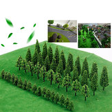 Trees Model Train Railway Railroad Wargame Diorama Scenery Landscape Decorations