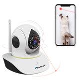 Vstarcam C38S-P 1080P Evcil Hayvan IP Kamera Wifi Video Gözetim Güvenliği Kamera Uzakdan Kumanda Lazer Evcil Hayvan Video Interkom IR Gecesi ile Oynat