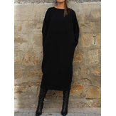 Autumn Winter Long Shirt Dress