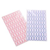 10 Sheets/pack Self Adhesive Label Paper 64 grids/sheet Easy Writing Stick-on Label Sticky Notes for Office Shops Supermarkets