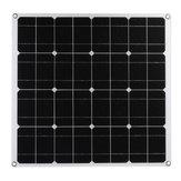 60W Mono Solar Panel USB 12V Solar Paneles de energía para Coche RV barco Batería Cargador
