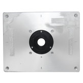 Aluminum Router Table Insert Plate 235mm x 300mm x 8mm For Wood Working Benches