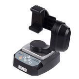 Zifon YT-500 Automatische Fernbedienung Pan Tilt Motorisierte Rotating Video Stativkopf Max. Belastung 500g Für iPhone 7/7 Plus/6/6 Plus / 6s Smartphone