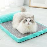 Bellek Pamuk Kedi Yatak Pet Mat Çıkarılabilir Ve Yıkanabilir Kennel Orta Büyük Köpek Kedi Yatak Köpek Yuva