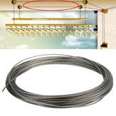 15M 316ステンレス鋼の衣類ケーブルラインワイヤーロープ