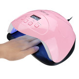 160W UV 42 LED Nagel Lampe Licht Gel Polish Cure Nageltrockner