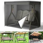 Heavy Duty Impermeable Cubierta de asiento giratorio de 3 plazas Protección de hamaca para patio de jardín