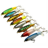 8Pcs Fishing Lure Plastics Fly Bait 3D Fish Eye Flat Rings Artificial Bait Fishing Flies
