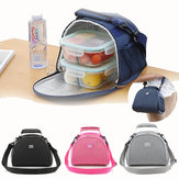 Large Capacity Lunch Insulated Bag Waterproof Portable Cooler Picnic Bags Food Thermal Box For Camping