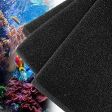 Black Aquarium Fish Tank Pond Sponge Biochemical Cotton Filter Cleaning Sponge