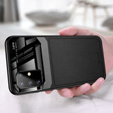 Pour Samsung Galaxy S20 + / Galaxy S20 Plus Bakeey Luxury Business PU Leather Mirror Glass Antichoc Housse de protection