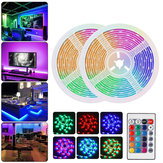 DC12V Waterdichte 2 M 3M 5 M 10 M SMD2835 RGB LED Strip Licht + 24 Toetsen Afstandsbediening Home Outdoor KTV Hotel