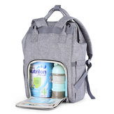 Polyester Mummy Backpack Diaper Handbag Outdoor Travel Storage Bag Large Capacity Baby Changing Bag