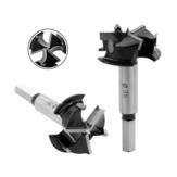 ドリルプロアップグレード35mm 3フルートカーバイドチップフォスタードリルビット木材オーガーカッター木工穴電動工具用