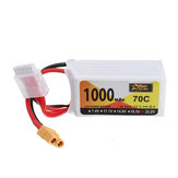 ZOP Power 22.2V 1000mAh 70C 6S Lipo Batería XT60 Enchufe para iFlight Nazgul5 227mm Drone