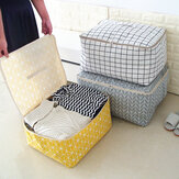 Simple Folding Clothes Organizer Durable Storage Bag Quilt Blanket Sock Container