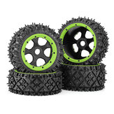 4PCS Rovan 853212 Front Rear Tires & Wheels for 1/5 HPI KM Baja 5B RC Car Parts