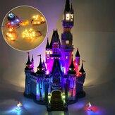 DIY LED ضوء Kit فقط من أجل LEGO 71040 Castle Brick Toys المحدثة / العادية