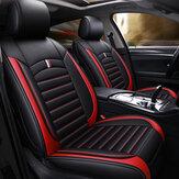 Universele autostoel zitkussenhoezen PU-leer ademend kussen
