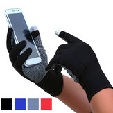 Bakeey Touch Screen a due dita sottile Guanti Sport all'aria aperta Ciclismo Guida Jogging Corsa Anti Slip Guanti per iPhone Xiaomi Tablet Non originale
