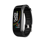 XANES® C6 Plus 0.96in Waterproof Smart Watch HR Monitor Sports Fitness Bracelet mi band