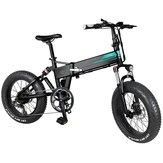 [Direto da UE] FIIDO M1 36V 12.5Ah 250W 20 polegadas Bicicleta dobrável de ciclomotor 24km / h Velocidade máxima 80KM Faixa de quilometragem Bicicleta elétrica