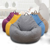 Large 100*120 Color Bean Bag Chairs Couch Sofa Cover Indoor Lazy Sofa For Adults Kids