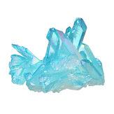 1 Adet Kraliyet Mavi Doğal Kristaller Kuvars Küme Mineral Örneği Şifa Ev Dekorasyonu