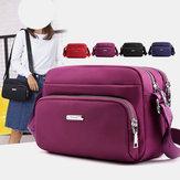 Women Nylon Waterproof  Shoulder Bag Crossbody Bag