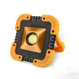 IPRee® 20 W LED COB Luz de Trabalho Solar À Prova D 'Água USB Recarregável Holofote Holofotes Lanterna de Emergência de Acampamento Ao Ar Livre