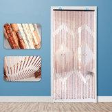 90x175cm 27Line木製ビーズカーテンフライスクリーンポーチ寝室リビングルームディバイダー