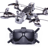 Flywoo Mr.Croc-HD 235mm 5 Inch 6S F4 Bluetooth FPV Racing Drone BNF w/ DJI FPV Air Unit & Goggles 2306.5 1750KV Motor