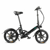 Original              [EU Direct] FIIDO D3S Shifting Version 7.8Ah 36V 300W 16 Inches Folding Moped Bicycle 25km/h Max 60KM Mileage Electric Bike