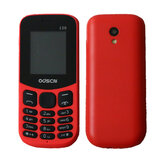 ODSCN 130 1,77 tommer 3000mAh med Whatsapp FM-radio bluetooth-vibration Store taster Dual SIM-kort Dual Stand Feature Phone