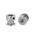 3 Adet Anet® 20 Diş Alüminyum 8mm Çap Zamanlama Kemer Kasnak için 6mm Genişlik Kemer 3D Yazıcı için Flanş Senkron Tekerlek CNC Parçaları