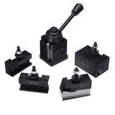 Machifit 250-000 Cuniform GIB Type outils de changement rapide Kit outil poste 250001-010 porte-outil pour outils de tour