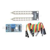 3Pcs Гигрометр для определения влажности почвы Датчик Geekcreit для Arduino - продукты, которые работают с официальными платами Arduino
