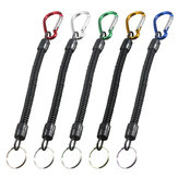 1PC Max 90CM Fishing Lanyard Boating Kayak Camping Secure Pliers Lip Grips Tackle Tools Camping Carabiner Fish Tools Fishing Diving Accessory