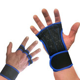 KALOAD 1 Pair Weightlifting Sports Gloves Non-slip Wear-resistant Breathable Wrist Hand Support Cycling Fitness Gloves