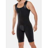 Men Onesies Bodybuilding Butt Lifting Body Control Shapewear