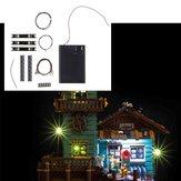 DIY LED Light Lighting Kit ONLY For LEGO 21310 Fishing Store Building Blocks