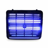 4/6 / 8W LED Assassino de mosquito elétrico UV Lâmpada Inseto praga Fly Bug Zapper Catcher Lâmpada de assassino de insetos