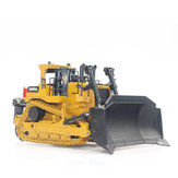 HUINA 1700 1:50 Static Alloy Bulldozer Model Diecast Model Engineering Toys