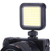Ulanzi VL100 5500K Rechargeable Pocket On Camera COB LED Video Light untuk Kamera DSLR Ponsel Photograhy