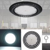 60/100/150 / 200W LED UFO High Bay Flood Light 6000K Gudang Pencahayaan Industri